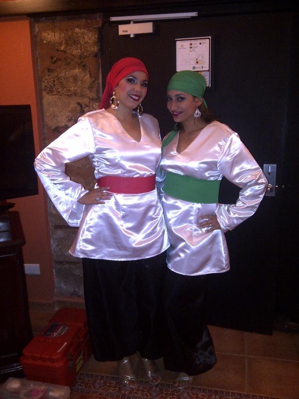 Ivette y yo en Boda Libanesa.